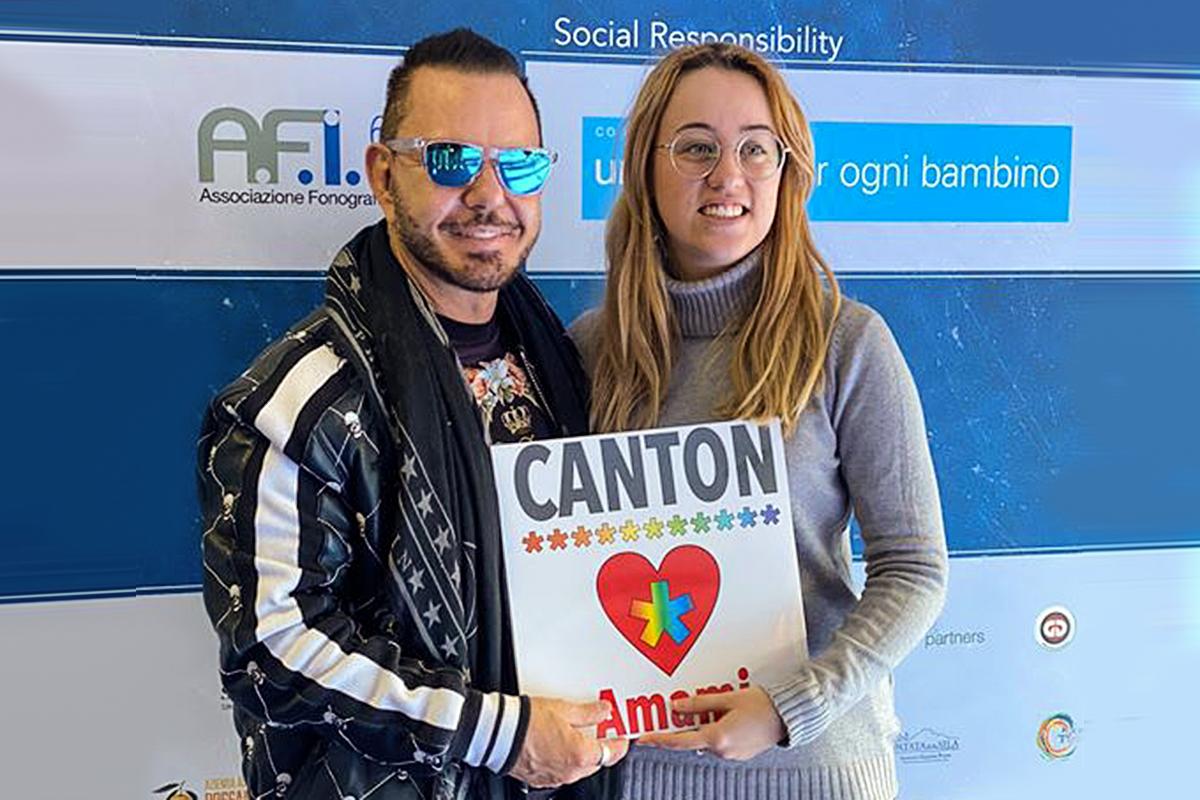 """I Canton, dal progetto """"Uno su tre"""" il nuovo singolo """"Amami"""""""